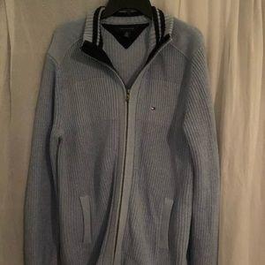 TOMMY HILFIGER blue sweater